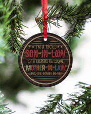 I'm A Proud Son-in-law of A Freaking Awesome  Circle ornament - single (porcelain) aos-circle-ornament-single-porcelain-lifestyles-07