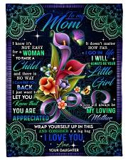 "To My Mom - Fleece Blanket   Small Fleece Blanket - 30"" x 40"" front"