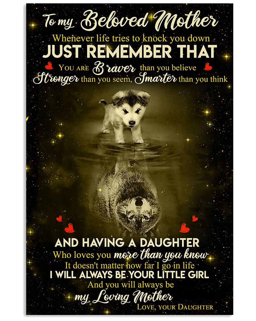 DAUGHTER TO MOM 16x24 Poster