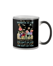 To My Daughter-in-law - Vintage - Gift of Life Color Changing Mug thumbnail