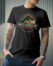 Motherhood Like a walk in the park Classic T-Shirt lifestyle-mens-crewneck-front-6