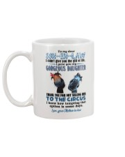 TO MY SON-IN-LAW - HORSE - CIRCUS Mug back