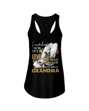 GRANDMA - VINTAGE - ELEPHANTS Ladies Flowy Tank thumbnail