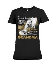 GRANDMA - VINTAGE - ELEPHANTS Premium Fit Ladies Tee thumbnail