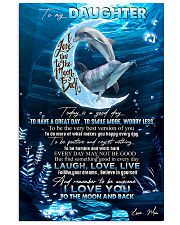 DAUGHTER - DOLPHIN - TODAY IS A GOOD DAY 16x24 Poster front