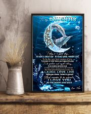 DAUGHTER - DOLPHIN - TODAY IS A GOOD DAY 16x24 Poster lifestyle-poster-3