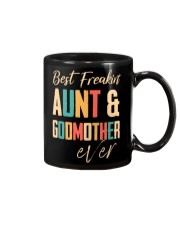 BEST FREAKING AUNTIE - GODMOTHER Mug thumbnail