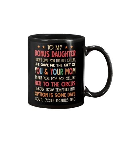 BONUS DAD TO BONUS DAUGHTER