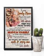 TO MY LOVELY NIECE 16x24 Poster lifestyle-poster-8