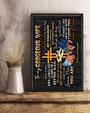 To Wife - Cross And Rings - Once upon A Time 16x24 Poster lifestyle-poster-3