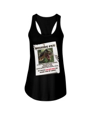 KIDS - MISSING PET - REX Ladies Flowy Tank thumbnail