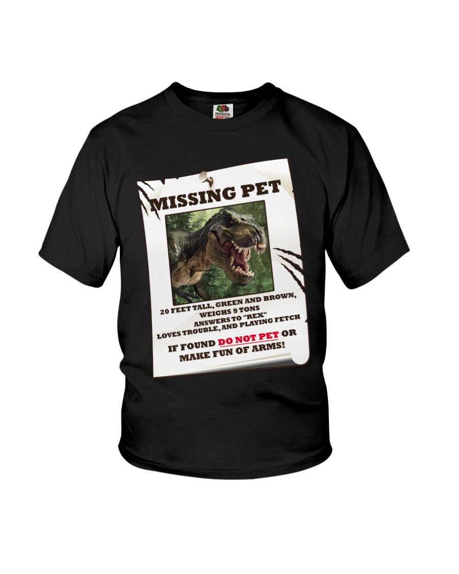 KIDS - MISSING PET - REX Youth T-Shirt