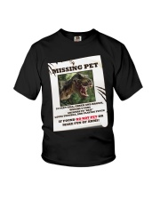KIDS - MISSING PET - REX Youth T-Shirt front