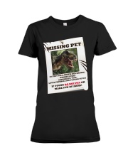 KIDS - MISSING PET - REX Premium Fit Ladies Tee thumbnail