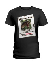 KIDS - MISSING PET - REX Ladies T-Shirt thumbnail
