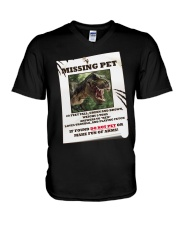 KIDS - MISSING PET - REX V-Neck T-Shirt thumbnail