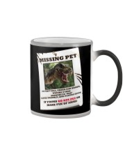 KIDS - MISSING PET - REX Color Changing Mug thumbnail