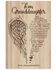 Grandma to Granddaughter - You Are The Beat Of My 16x24 Poster front