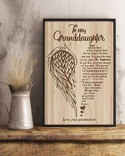 Grandma to Granddaughter - You Are The Beat Of My 16x24 Poster lifestyle-poster-3