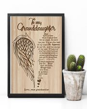 Grandma to Granddaughter - You Are The Beat Of My 16x24 Poster lifestyle-poster-8