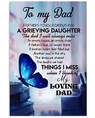 TO MY ANGEL DAD - BUTTERFLY - MY LOVING DAD