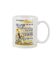 AUNT TO NIECE Mug front