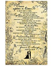 To Husband - Once Upon A Time A Boy Met A girl  16x24 Poster front