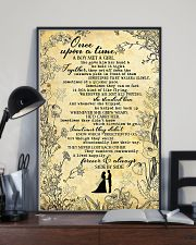 To Husband - Once Upon A Time A Boy Met A girl  16x24 Poster lifestyle-poster-2