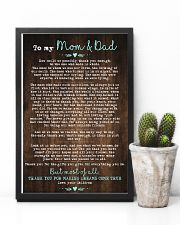 CHILDREN TO MOM AND DAD 16x24 Poster lifestyle-poster-8
