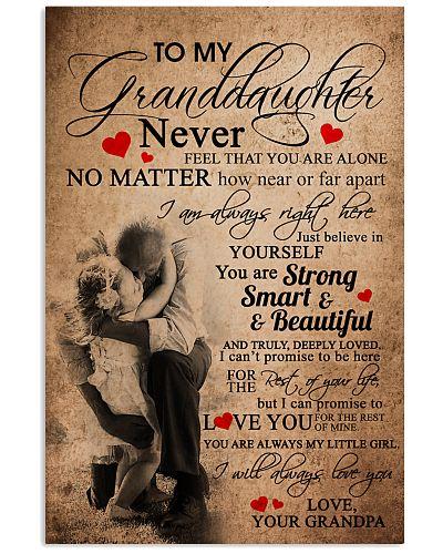 GRANDPA TO GRANDDAUGHTER