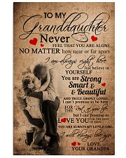 GRANDPA TO GRANDDAUGHTER 16x24 Poster front