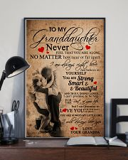 GRANDPA TO GRANDDAUGHTER 16x24 Poster lifestyle-poster-2