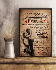 GRANDPA TO GRANDDAUGHTER 16x24 Poster lifestyle-poster-3