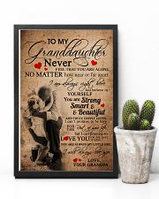 GRANDPA TO GRANDDAUGHTER 16x24 Poster lifestyle-poster-8