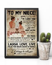 TO MY NIECE - AUNTIE - I'LL ALWAYS BE WITH YOU 16x24 Poster lifestyle-poster-8