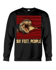 T-rex - Six Feet people - T-shirt Crewneck Sweatshirt thumbnail