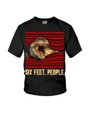 T-rex - Six Feet people - T-shirt Youth T-Shirt thumbnail