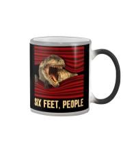 T-rex - Six Feet people - T-shirt Color Changing Mug thumbnail