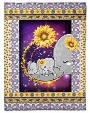 """FLEECE BLANKET - CHILDREN - MOTHER - ELEPHANT Small Fleece Blanket - 30"""" x 40"""" front"""