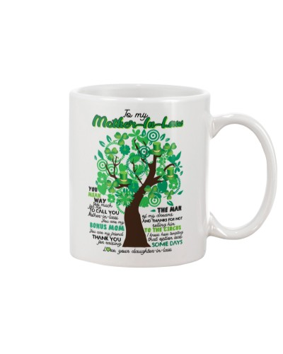 TO MY MOTHER-IN-LAW - TREE - THANK YOU