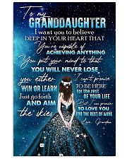 GRANDDAUGHTER - GIRLS - YOU WILL NEVER LOSE 16x24 Poster front