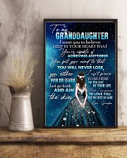 GRANDDAUGHTER - GIRLS - YOU WILL NEVER LOSE 16x24 Poster lifestyle-poster-3