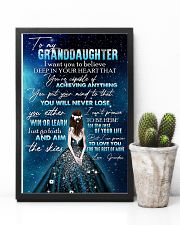 GRANDDAUGHTER - GIRLS - YOU WILL NEVER LOSE 16x24 Poster lifestyle-poster-8
