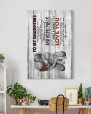 Dad to Daughter - Canvas 20x30 Gallery Wrapped Canvas Prints aos-canvas-pgw-20x30-lifestyle-front-03