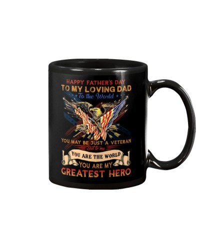 MUG - TO MY DAD - FATHER'S DAY - EAGLE