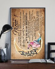 DEAR MY NIECE 16x24 Poster lifestyle-poster-2