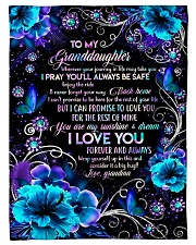 """Grandma to Granddaughter - You Are My Sunshine  Small Fleece Blanket - 30"""" x 40"""" front"""