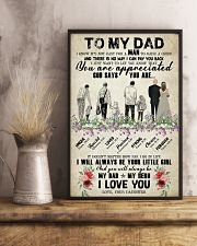To My Dad - Poster   16x24 Poster lifestyle-poster-3