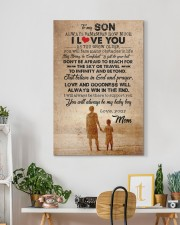 To Son - Always Remember How Much - Canvas  20x30 Gallery Wrapped Canvas Prints aos-canvas-pgw-20x30-lifestyle-front-03