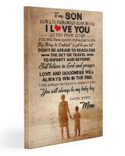 To Son - Always Remember How Much - Canvas  20x30 Gallery Wrapped Canvas Prints front